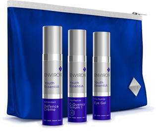 Kraftvolles Trio: ENVIRON Limited Edition Youth EssentiA Discovery Trio Set!