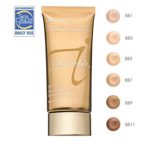 """Glow Time™"" Full Coverage Mineral BB Cream SPF 25"